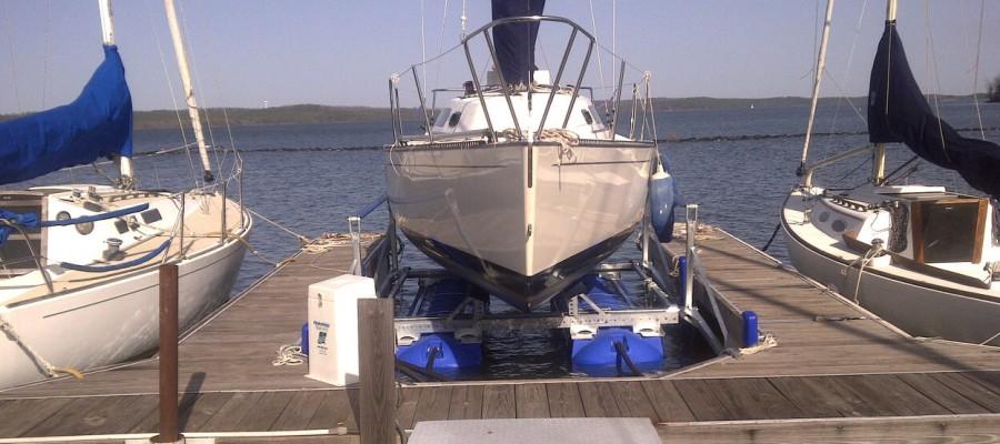 Big Boat Hydro Lift Systems