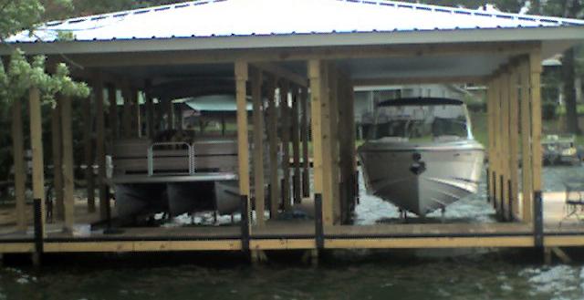 Dual Boat Lifts